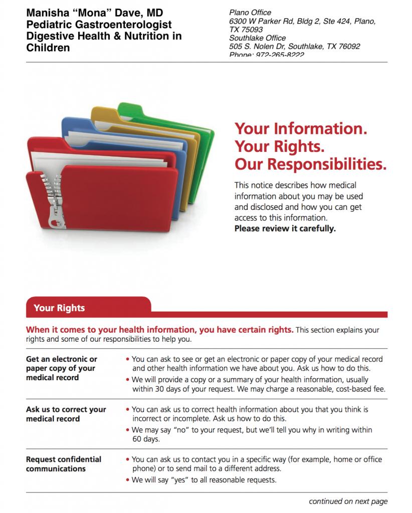 HIPAA Notice
